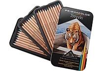 Sanford Prismacolor Watercolor Pencil Set, 36/Tin