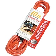 CCI® PVC Jacket SJTW Outdoor Extension Cord, 16/3 AWG, 10 ft (L)