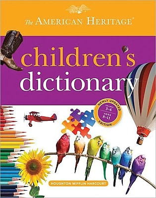 Houghton Mifflin Harcourt American Heritage Children's Dictionary 2013, Hardcover, 896 Pages, 1 2/3