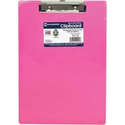 Saunders 21594 Clipboard, Letter Size, Neon pink