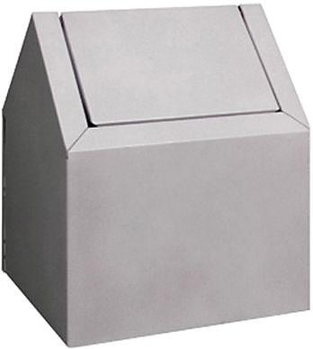 Impact Metal Floor Disposal Unit, White, 11 1/2