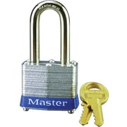 Master Lock® 3DLF Non-Rekeyable Laminated Padlock, Keyed Different