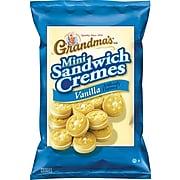 Grandma's® Mini Vanilla Creme Cookies, 3.71 oz. bags, 24/Bx
