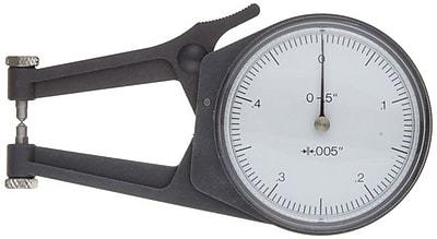 Mitutoyo 209-783 Dial Caliper Gage, 0 - 2