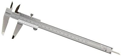 Mitutoyo 530-118 Standard Vernier Caliper, 0 - 8