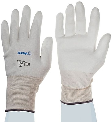 SHOWA Best® 540 Cut Resistant Gloves, White, Medium