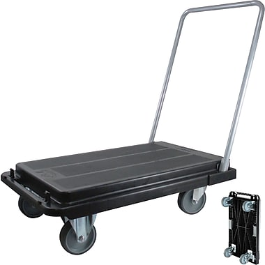 Deflecto Folding Platform Cart with 5