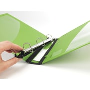 """1"""" Staples® Better® Binder with Removable FileRings™, Green"""