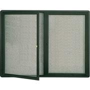 Quartet® – Tableau à cadre fermé en tissu, cadre en graphite
