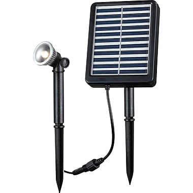 Kenroy Home 1 W Solar Spotlight, Black Finish