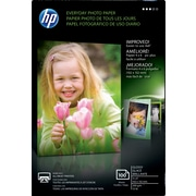 "HP® Everyday Inkjet Photo Paper, Glossy, 4"" x 6"", 100/Pack"