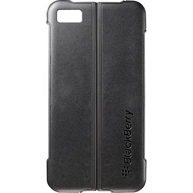 BlackBerry - Étui avec couvercle rabattable pour Z10, noir