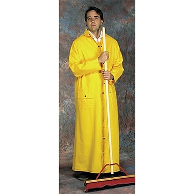 Anchor Brand® 9020 Riding Raincoat W/Detachable Hood, Yellow, Medium