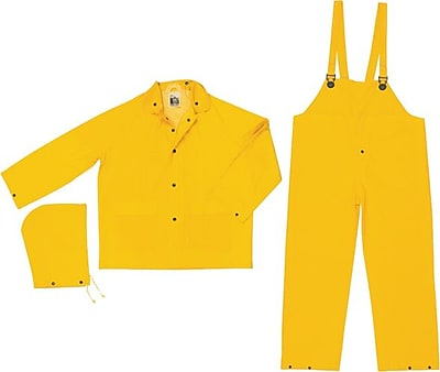 River City 2003 Classic 3-Piece Rainsuit, Yellow, X-Large 154513