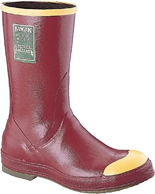 Servus® R6130 Dielectric Steel Toe Boots, Red, Size 12