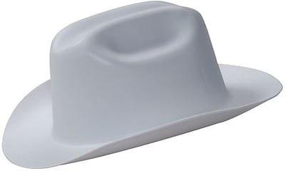 Jackson Safety® 138-19525 HDPE Blended Plastic Hard Hat, Gray