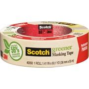 "Scotch® Greener Masking Tape, 1.5"" x 60 Yards"