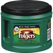 Folgers® Classic Roast Ground Coffee, Decaffeinated, 22.6 oz. Can