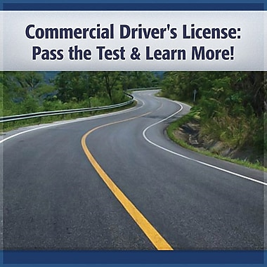 Trucker 2 Pack: Commercial Drivers License & Trucker Health Audiobook [Download]
