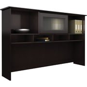 "Bush® Cabot Collection 60"" Hutch, Espresso Oak"