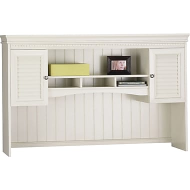 Bush® Fairview Collection Hutch, Antique White