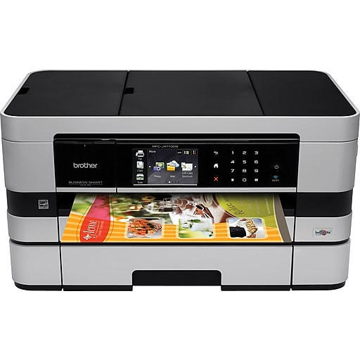 Brother mfcj4710dw color inkjet all in one printer staples httpsstaples 3ps7is fandeluxe Images