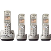 Panasonic DECT 6.0 Plus KX-TG4224N 4 Handset Cordless Telephone with Answering System