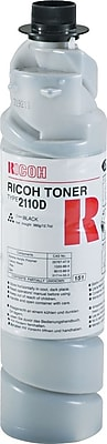 Ricoh Type 2110D Black Toner Cartridge (885208), 4/Pack