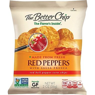 The Better Chip, Red Pepper and Salsa Fresca, 10 Bags/Box