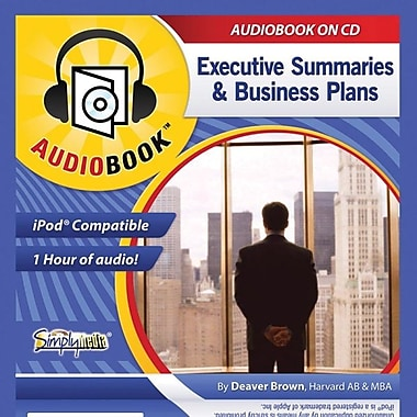 Livre audio Business Plans & Executive Summaries [Téléchargement]