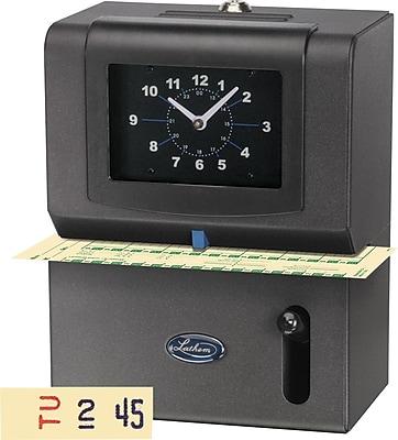 Lathem Heavy-Duty Manual Punch-Card Time Clock (2121)