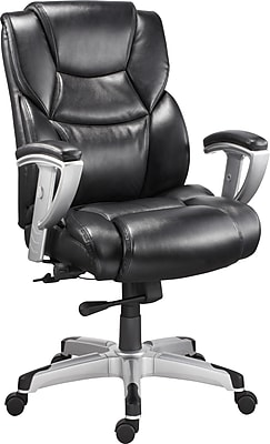Staples Denville Bonded Leather Big and Tall Managers Chair