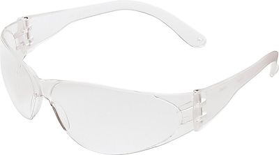 MCR Safety® Crews Checklite® Safety Glasses, Clear, Uncoated Lens, 1 Each