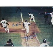 Mookie Wilson and Bill Buckner Dual Signed Photo 8x10