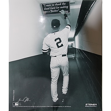 Derek Jeter Shot in the Tunnel at the Original Yankee Stadium Photo 16x20