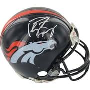 Peyton Manning Hand Signed Denver Broncos Mini Helmet