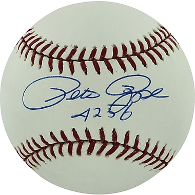 Pete Rose Hand Signed MLB Baseball with