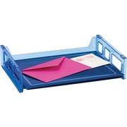Officemate® Blue Glacier Side Load Letter Tray