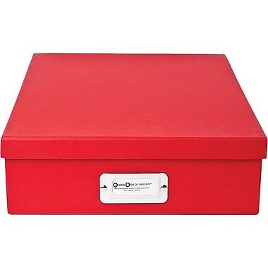 Bigso Oskar Letter Box Red