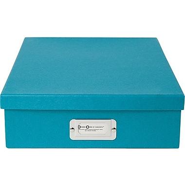 Bigso Oskar Letter Box Turquoise