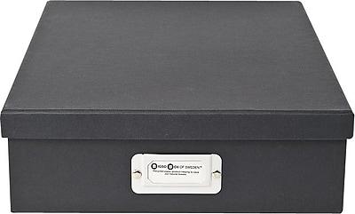 Bigso Oskar Letter Box Dark Grey