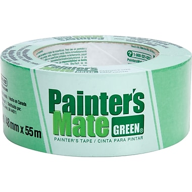 Shurtech - Ruban-cache Painter's Mate vert, 48 mm x 55 m