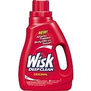 Wisk® Deep Clean High-Efficiency Washer Laundry Detergent, 50 Oz.