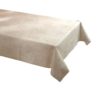 Hoffmaster Linen-Like Color In Depth Tablecover, Silver