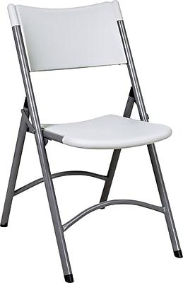 Office Star WorkSmart™ Plastic Resin Chair, White