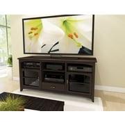 "Sonax® West Lake 60"" Wood/Veneer TV/Component Bench, Dark Espresso"