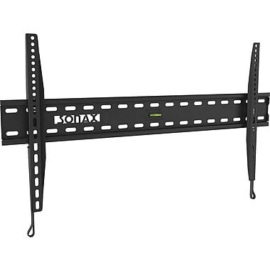 Sonax – Montage mural fixe à profil bas, pour téléviseurs de 32 à 65 po, noir