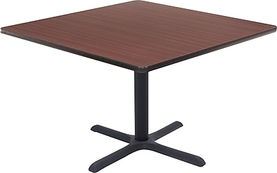 "Regency® 42"" Square Hospitality Table, Mahogany"