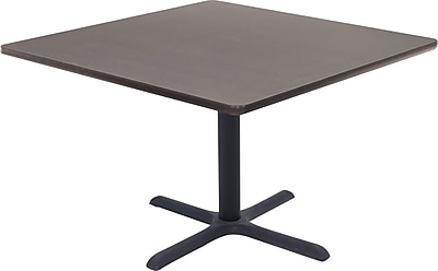 "Regency® 42"" Square Hospitality Table, Grey"