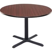 "Regency® 36"" Round Hospitality Table, Mahogany"